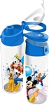 Disney Fiver Group Mickey Minnie Goofy Donald Pluto Flip Top Bottle