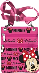 Minnie Mouse Glam Passport Bag