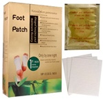 100 gold foot patches
