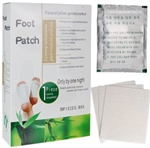 1000 silver foot patches