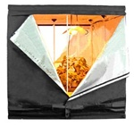 (1) 2-Door 6.3x6.3x6.3 ft Reflective Garden Grow Tent