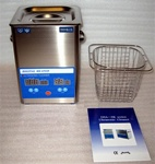 Brand New Stainless Steel 2.5 Liter Ultrasonic Cleaner w/ Digital Controller