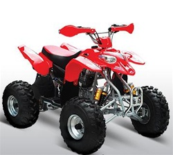 250cc Commander - EXT ATV