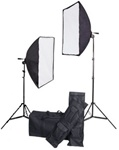 "Brand New 28""x20"" Large Softbox Continuous Studio Lighting Kit"
