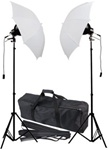 "High Quality 35"" Umbrella Photography Lighting 2 Constant Lights Kit w/ Bag"