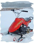 80cc Air Cooled Snowmobile