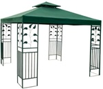 Green Gazebo Replacement Canopy Top