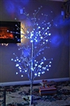 Brand New Vintage Aluminum 6 FT Christmas Tree 200 Branch Tips Indoor or Outdoor Decoration lights