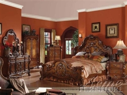 Victorian Queen Master Bedroom Set