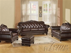 Top Gain Leather Sofa Set
