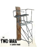 High Quality Grizzly Two Man 15ft Ladder Stand