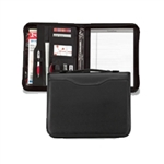 NIJ IIIA Bulletproof Zipper Folio Notebook Shield