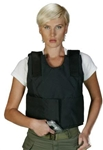 NIJ IIIA Bulletproof Women's Cut Body Armor Vest
