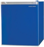 Open Box Blue Mini Compact Refrigerator