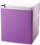 Open Box Purple Mini Compact Refrigerator