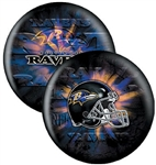 Baltimore Ravens 14lbs Bowling Ball