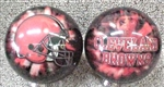 Cleveland Browns 10,12 and 15lbs Bowling Ball