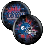 New York Giants 12 or 15lbs Bowling Ball