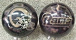 St Louis Rams 10,14lbs Bowling Ball