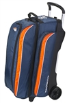 Denver Broncos Triple Roller Bowling Ball Bag