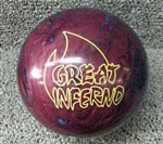Brunswick Great Inferno 15lbs Bowling Ball