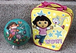 Dora the Explorer 6-10lbs Bowling Ball and Bag