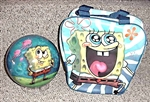 Spongebob Squarepants Ball and Bag Combo