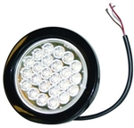 "Brand New Recessed 4"" Round Clear Strobe Light"