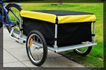 Yellow Bike Trailer