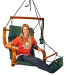 Hammock style swing chair