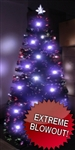 High Quality 7 Foot Pre-Lit Fiber Optic LED Christmas Tree