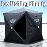 Hunting Ice Fishing Shanty Hut XL