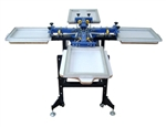 High Quality 4 in4 Silk Screening Station