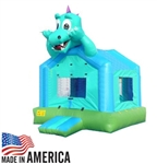 Blue Dragon Inflatable Bounce House Bouncy House (Commercial Grade)