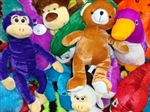 Super Value Jumbo Plush Toys For Crane Machine - 100 Pieces