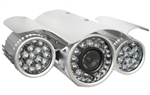 "1/3"" Night Vision Outdoor Security Camera Kit"