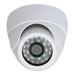 "1/3"" CCD Indoor Dome Security Camera Kit"