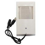 Motion Detector with Pinhole Hidden Camera