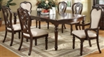 7 Piece Formal Dining Table and Chair Set