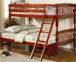 High Quality Kids Twin Over Full Bunk Bed