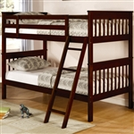 Brand New Childrens Twin Slat Bunk Bed