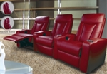 Pavillion Contemporary Leather Theater Seating