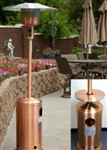 Copper Propane Outdoor Patio Heater w/ Table