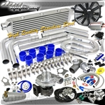 Brand New T3/T40E Turbo/Turbo Charger Kit Piping Boost