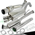"Brand New 3"" Twin Exit Turbo Catback Exhaust GT4 ST185"