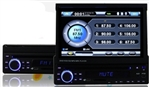 "7"" LCD Screen Car Stereo DVD Player with GPS, Bluetooth, and More"