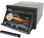 "7"" Touch Screen Car DVD GS-7007D Stereo with GPS, Bluetooth, and More"