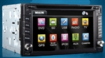"6.2"" Touch Screen Car DVD WP-TY635 Stereo with GPS, Bluetooth, and More"