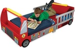 Brand New Fire Truck Toddler Cot