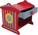 Brand New Fire Truck Toddler Table